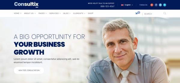 Consultix Business WordPress Theme