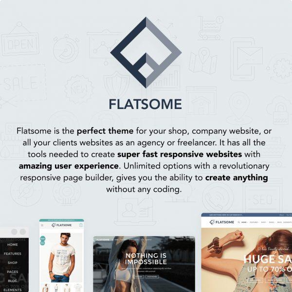 Flatsome WordPress Theme Giá Rẻ Bán Hàng Tốt