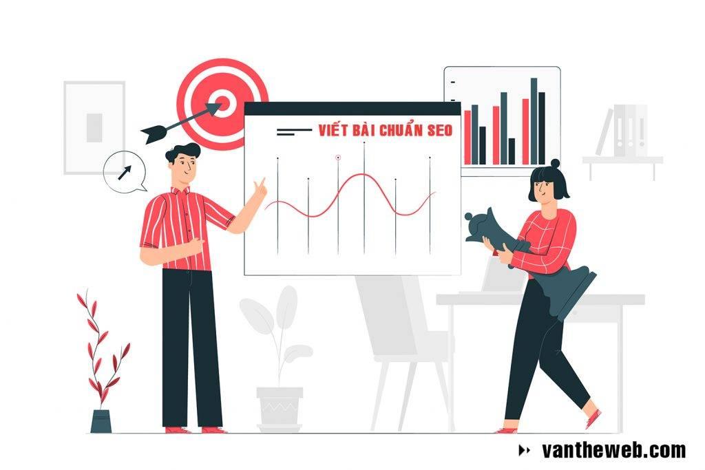Dịch vụ viết bài chuẩn SEO vantheweb.com
