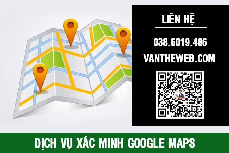 Dịch vụ xác minh Google Maps Giá rẻ Hồ Chí Minh